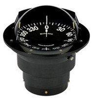 "Ritchie Globemaster Compass Flush Mount - Black - 5"" Dial"