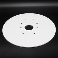 "Universal Mounting Plate - 15"" Diameter - no holes (68860)"