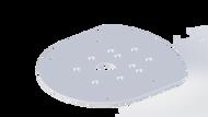 Mounting Plate - Raymarine Quantum, 2kW, & 4kW Radar Domes (68551)