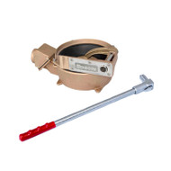 "Bronze Manual Offset Drive Bottom Inlet Pump (2"" Intake/Discharge) (55422)"