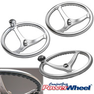 Satin Finish Stainless Steel ComfortGrip PowerWheel