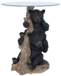 Two Bears End/Side Table
