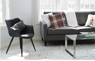 Fringe plaid throw pillow blends perfectly into any décor.  Available at Giftopolis.ca