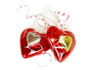 Chocolate heart on heart - Chocolate Post