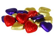 Chocolate Mini Hearts - Chocolate Post