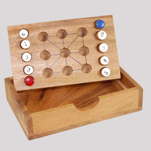 Wooden Tic Tac Toe Board Game