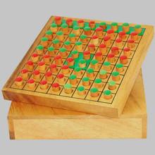 Wooden Reversi Board Game