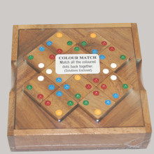 Wooden Brain Teaser Puzzle Game