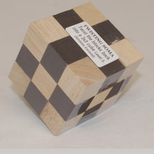 Wooden 3D Soma Cube Puzzle