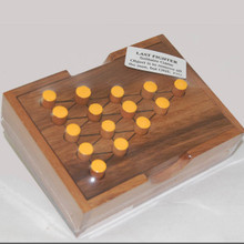 Wooden Last Fighter Board Game