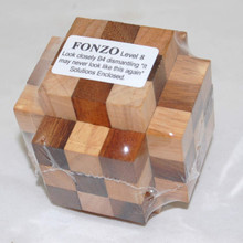 Interlocking Square Wooden 3D Puzzle for Adults