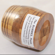 Barrel Shaped 3D Wooden Puzzle