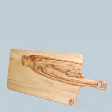 Camphor Laurel Picnic Board. A stylish food display board which also doubles as a chopping board. Naturally anti bacterial, with a beautiful color and grain. Made in Australia.
