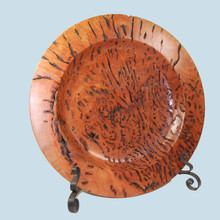 Magnificent turned Red Gum Burl Bowl. Australian made.