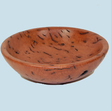 Red Gum Burl Bowl by Wood Turner Ron Leclere. Australian gifts.
