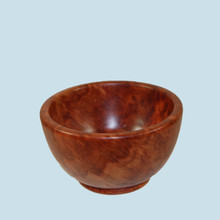 Red Mallee Burl Bowl . Made in Australia.