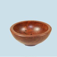 Red Gum Burl Bowl. Handmade in Australia.