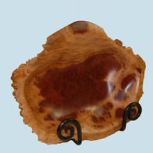 Carved Red Mallee Burl Bowl made in Australia.