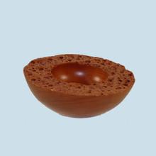 Turned Cherry Wood bowl. Australian made crafts.