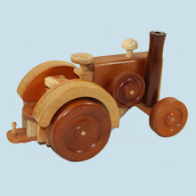 Australian made wooden tractor.