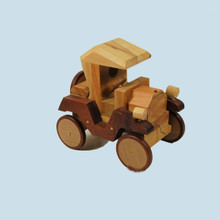 Timber Ford Motor Car. Made in Australia.