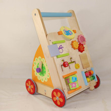 Babys first walker with a variety of educational and fun activities.