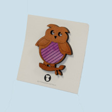 Owl Brooch made in Australia.