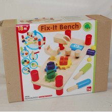 Wooden Fix it Tool Bench for young carpenters.