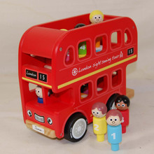 Red London Bus. Educational and fun.