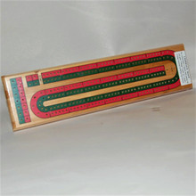 Cribbage Board for two players