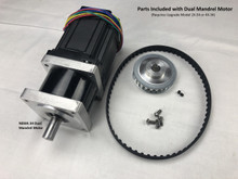 Dual Mandrel Motor for 2X-34 or 4X-34