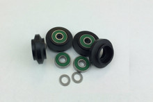 Dual Bearing Wheels (Pkg of 4)