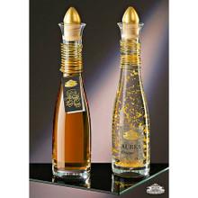 Caraffa Cristallo Spirale Oro Grappa Aurea