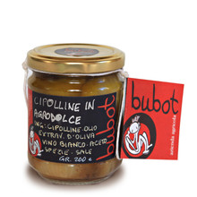 Cipolline in Agrodolce Bubot 200 g