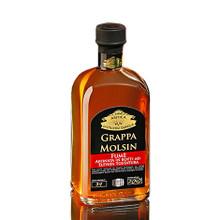 Acquavite di Vinaccia Molsin Affinata Fumè Antica Distilleria Quaglia