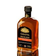 Acquavite di Vinaccia Molsin Affinata in Castagno Antica Distilleria Quaglia