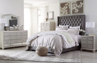 Coralayne Silver 5 Pc. Queen Bedroom Collection
