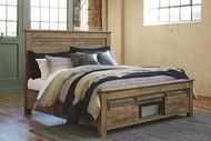 Sommerford Brown King Storage Bed