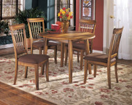 Berringer 5 Pc. Round Drop Leaf Dining Set