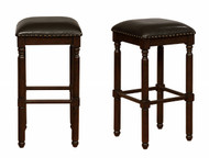 Chadwick Bar Height Stool- Espresso Finish