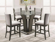 Camelia Counter Height Chair- Grey Finish