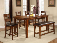 Figaro Counter Height Table- Butterfly Leaf