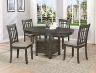 Hartwell Dining Table- Grey Finish