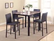 Aiden 5 PK Counter Height Dinette