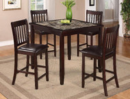 Cascade 5 PK Counter Height Dinning Table