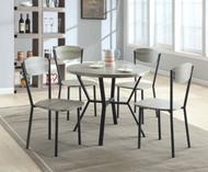 Blake 5 PK Round Dining Table & Chair