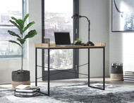 Gerdanet Light Brown Home Office Desk