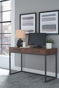 Horatio Dark Brown Home Office Small Desk