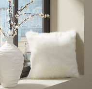 Himena White Pillow