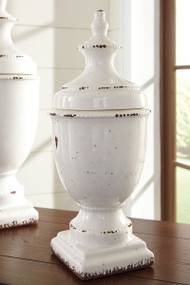 "Devorit Antique White 20"" Jar"